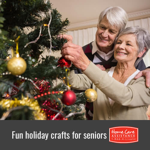 Keep Your Senior Loved-One Busy with Fun Holiday Crafts in Sacramento, CA