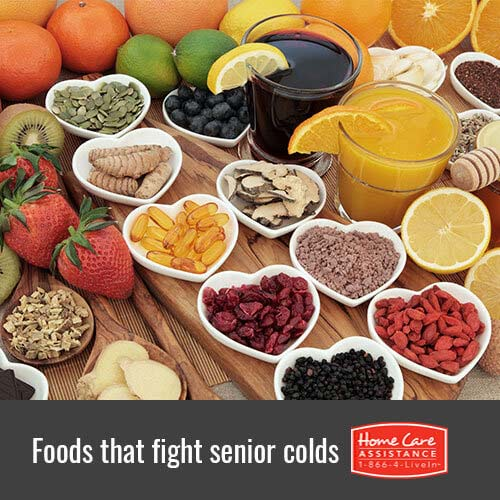 Healthy Foods that Helps Seniors Kick a Colds in Sacramento, CA