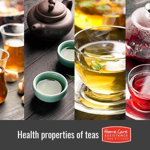 Health Properties of Various Teas that Benefit Seniors in Sacramento, CA