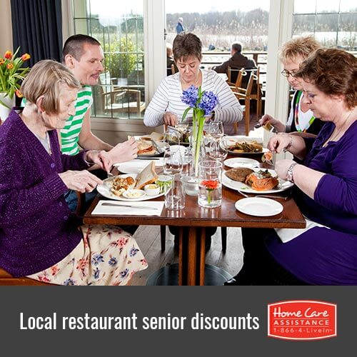 Top 5 Senior Discounts in Restaurants Near Sacramento, CA