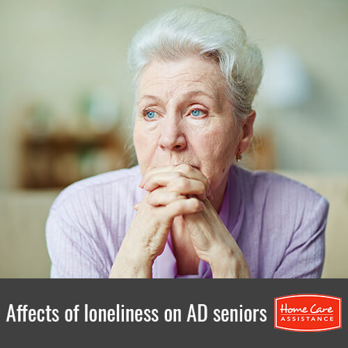 How Loneliness Can Affect Seniors with Alzheimer's Disease in Sacramento, CA