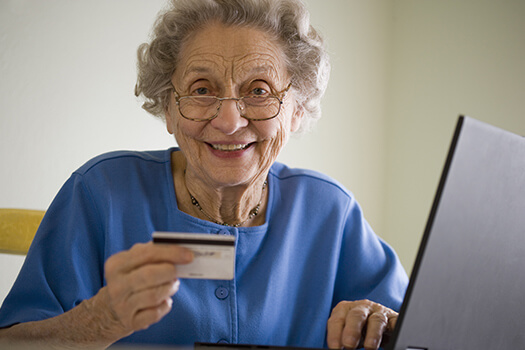 Seniors Practice Online Safety in Sacramento, CA