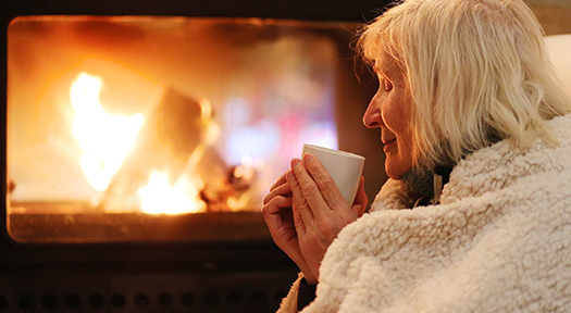 Keeping Seniors Warm And Cozy In The Winter in Sacramento, CA